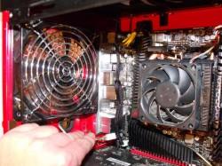 Aktivní chlazení počítače pomocí větráku